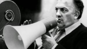 "Federico Fellini, regista de ""La dolce vita"""