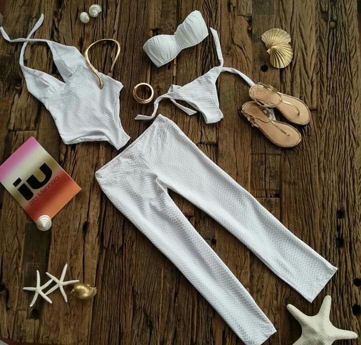 Costume intero, pantalone, bikini - Goccia pitone - IU Rita Mennoia - Accessori e scarpe